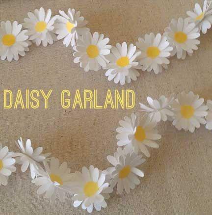 DIY Daisy Garland