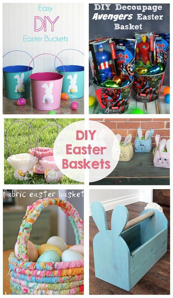 Diy Crafts Diy Easter Baskets Fabric Baskets Wood Baskets