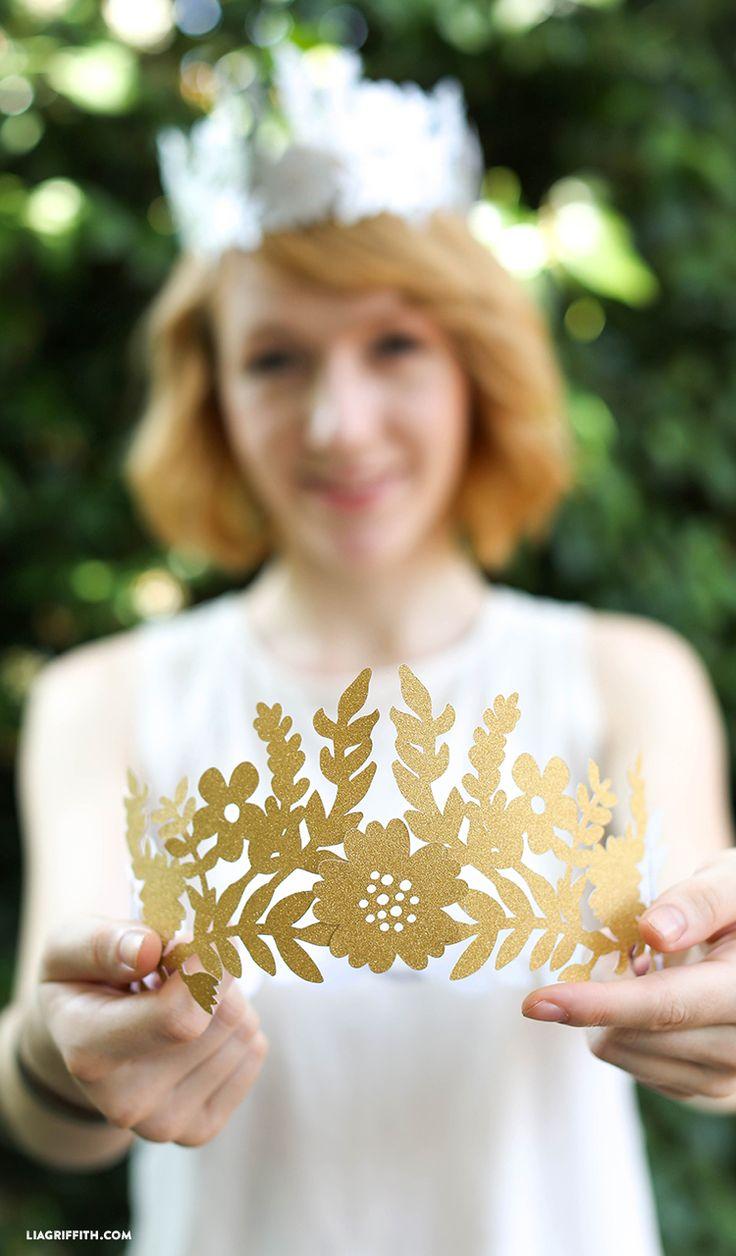 DIY Crafts : DIY Fairy Paper Crown - Lia Griffith - DIYall