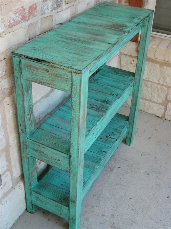 DIY Pallet Potting and Entry Way Table | Pallet Furniture DIY