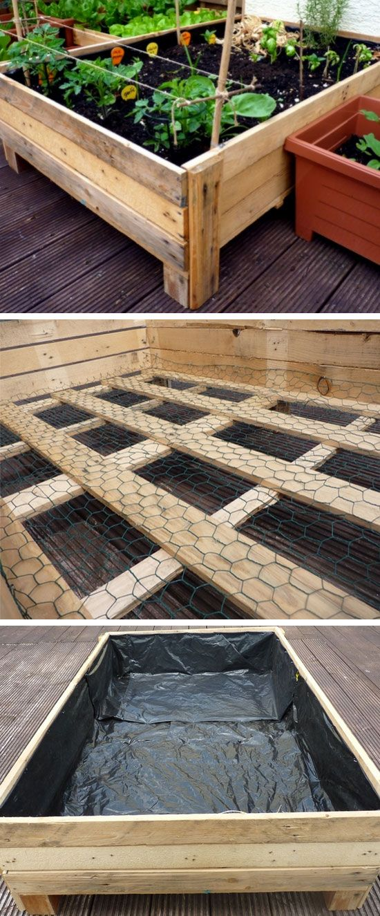 DIY Planter Box from Pallets | Click Pic for 20 DIY Garden Ideas on a Budget | D...