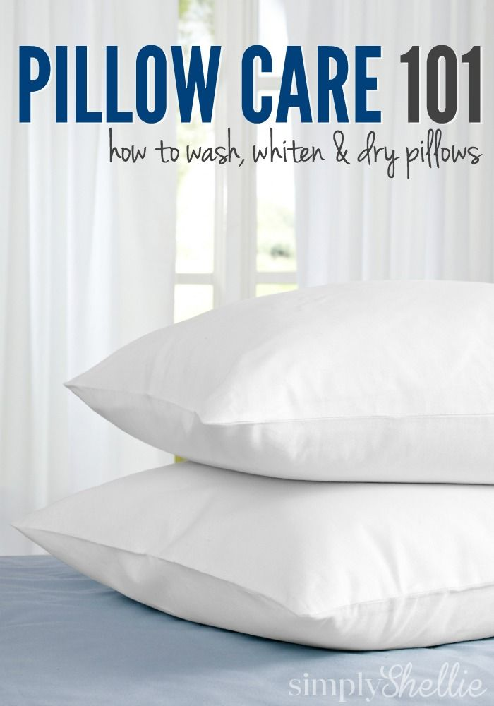 Did you know you are supposed to wash your pillows every couple of months! Breat...