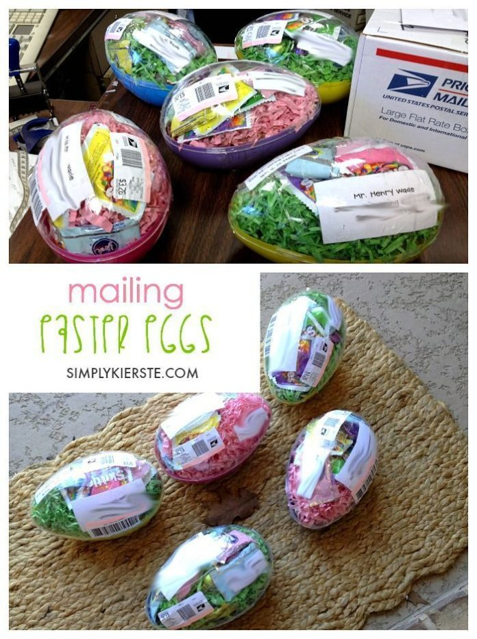 Diy Crafts Did You Know You Can Mail Plastic Easter Eggs To Your