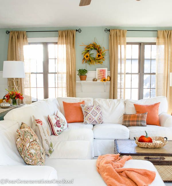Fall Decorating Ideas Blogger Home Tour