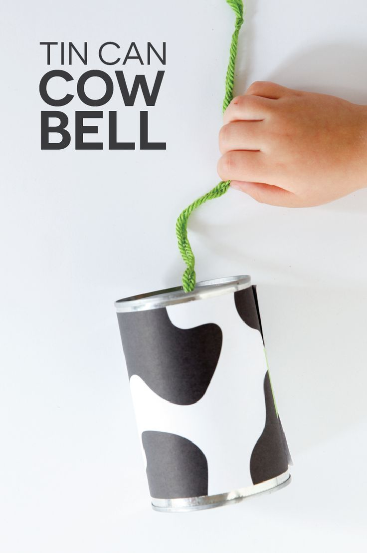 Free Printable lets you turn any can into a cow bell.