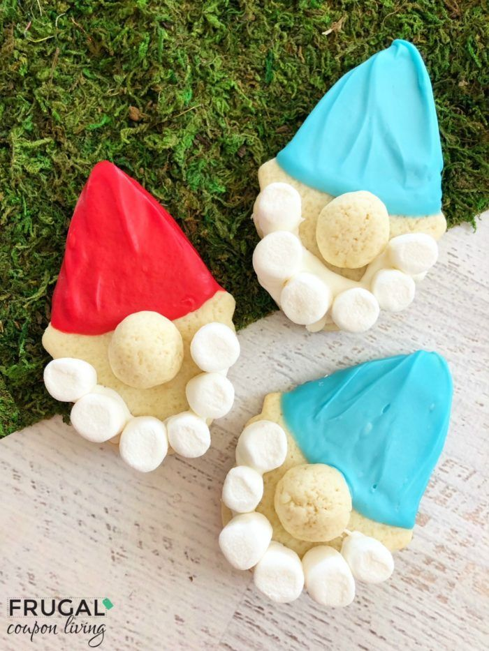 Gnome Cookies - Inspired by Gnomeo & Juliet, this Gnomes Garden Craft is fun for...
