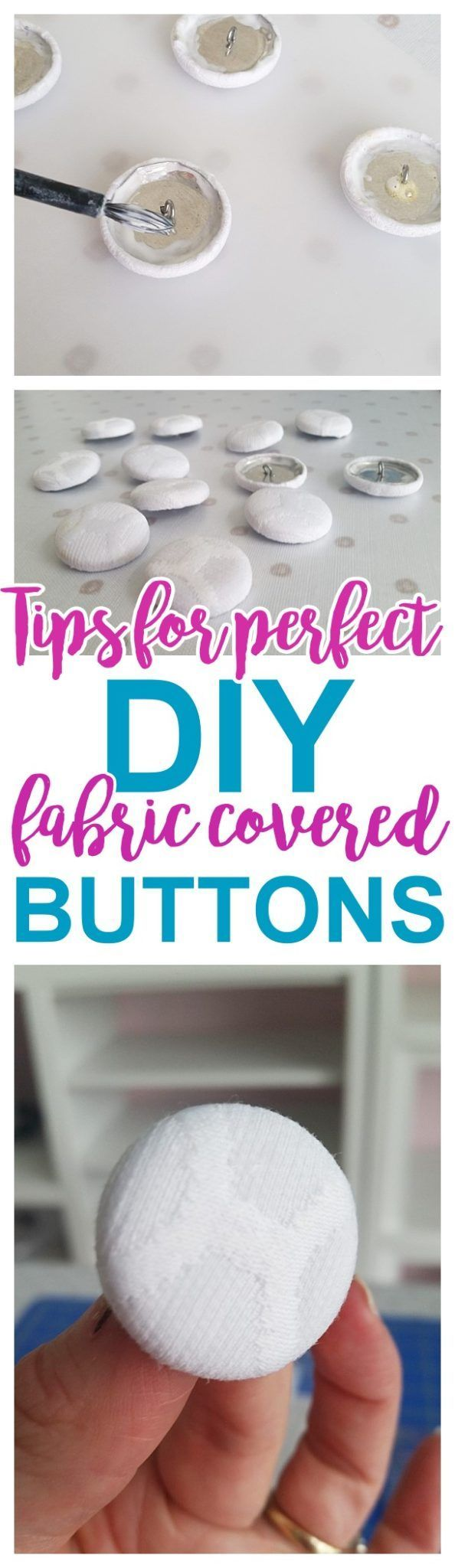 DIY Crafts : HOW TO: Use a button cover kit -DIY Upholstery