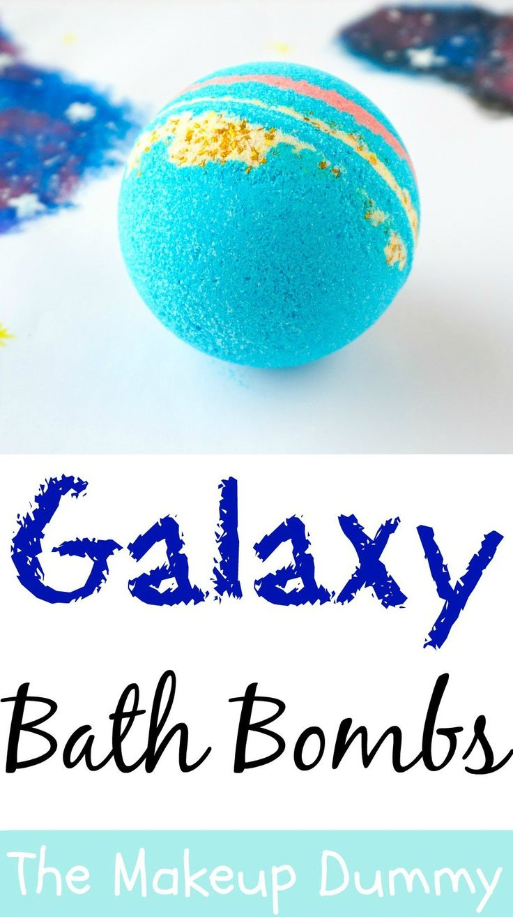 How-To-make-Intergalactic-Galaxy-Bath-Bomb-Fizzies-inspired-by-LUSH-its-easy-che...