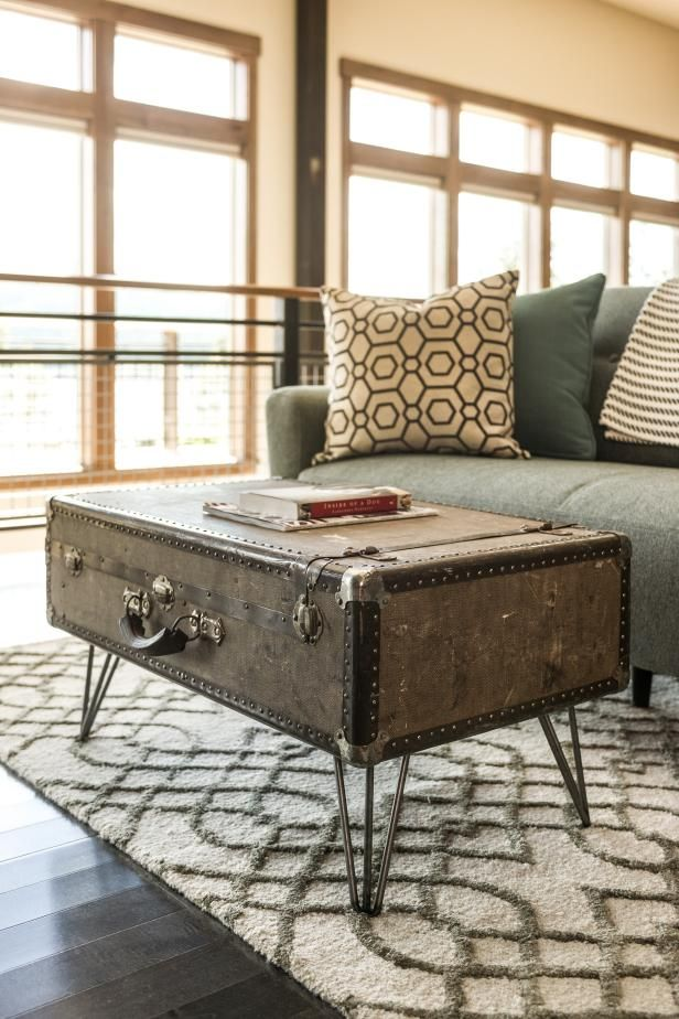 How to Make a Suitcase Coffee Table
