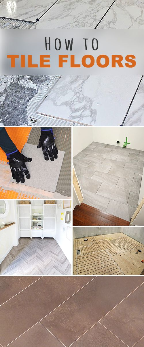 How to Tile Floors! • Learn how to lay tile, different techniques, how to inst...