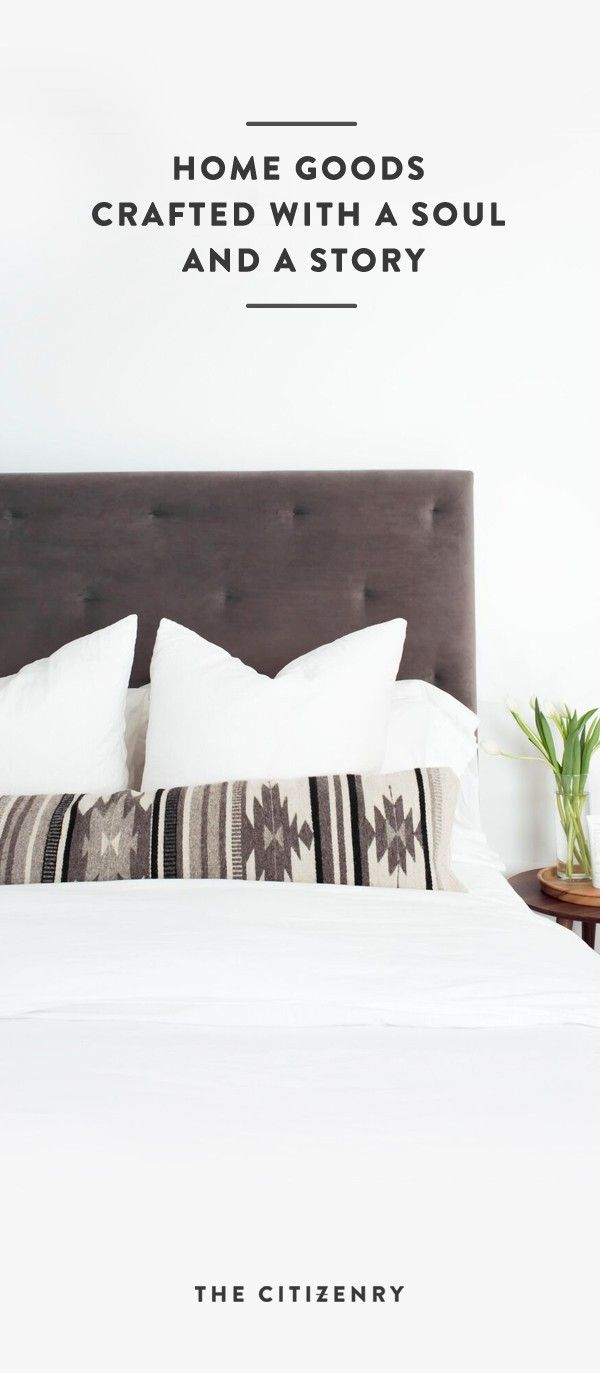 In love with The Citizenry! Their site is full of handcrafted home décor pieces...