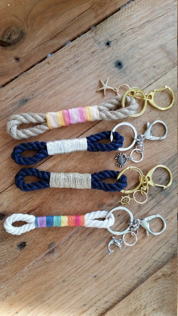 Diy Crafts Mainely Rope Keychain Diyall Net Home Of Diy