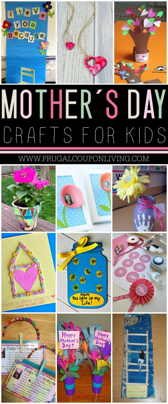 diy crafts : mother's day crafts for kids: mother's day