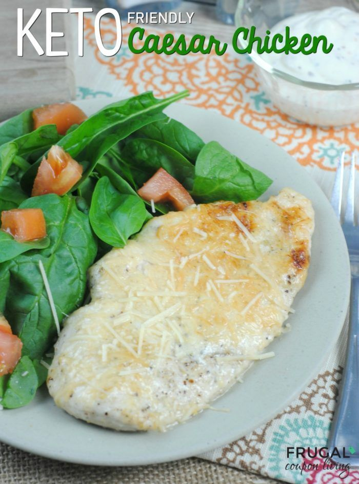 Mouthwatering Caesar Chicken Keto Recipe - a dinner recipe for the entire family...