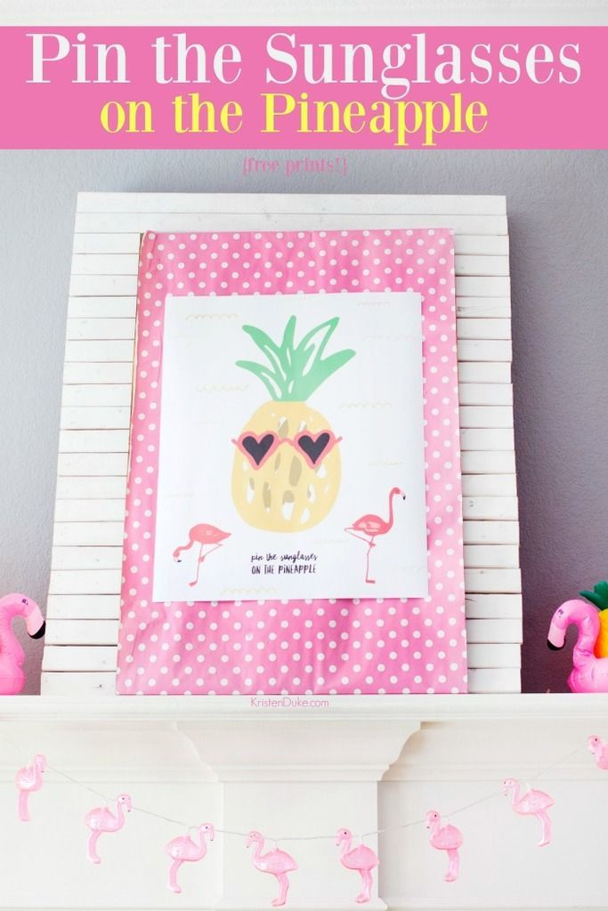 Pineapple Party Games #pineappleparty #pineapple #summer #summerfun #partyideas ...