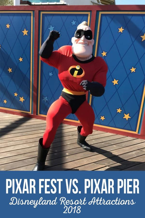 Pixar Pier and Pixar Fest are both new to the Disneyland Resort in 2018. Find ou...