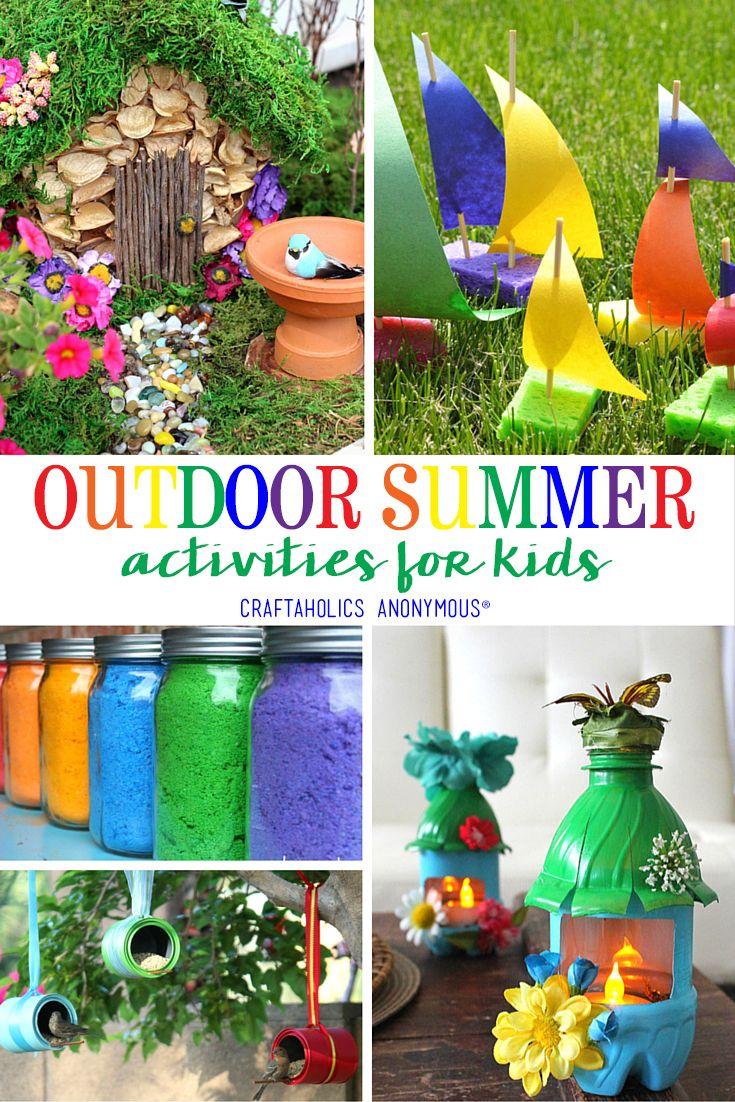 Pinterest Outdoor Crafts Easy Craft Ideas