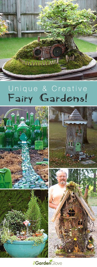 DIY Crafts : Unique and Creative Fairy Gardens • Lots of Tips and