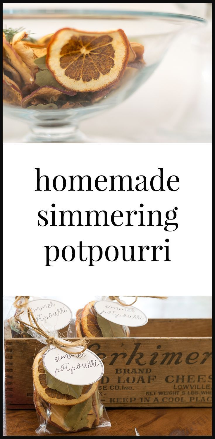 Whip up a batch of this delightful homemade simmering potpourri to fill your hom...