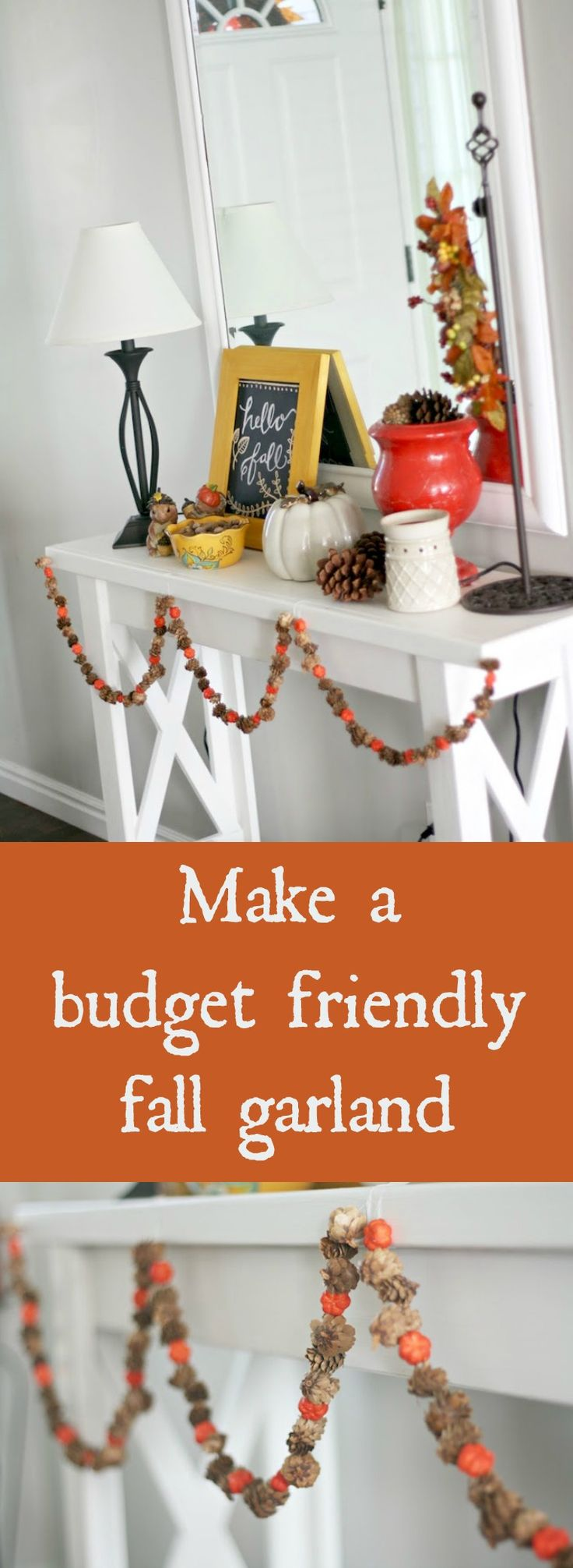 With a few basic supplies, you can easily whip up a fall garland. It's simpl...