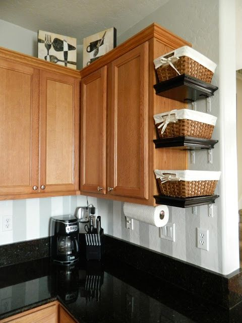 15 Clever Ways to Get Rid of #Kitchen Counter Clutter #diycrafts #diydecor