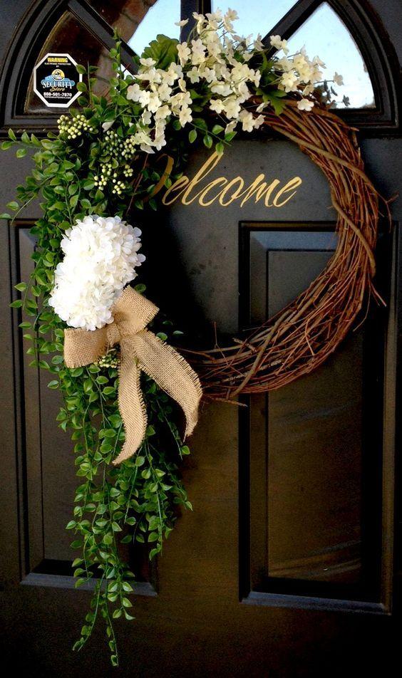15 #Wreath Ideas for Summer #diydecor #diyhomedecor