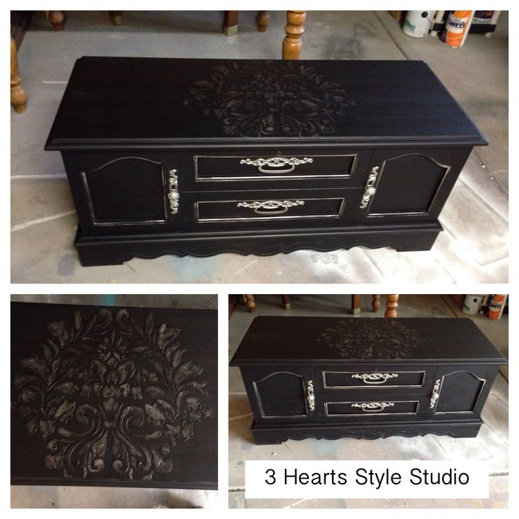 Custom painted chest. Hollywood Regency. Painted furniture. Denver and Colorado ...