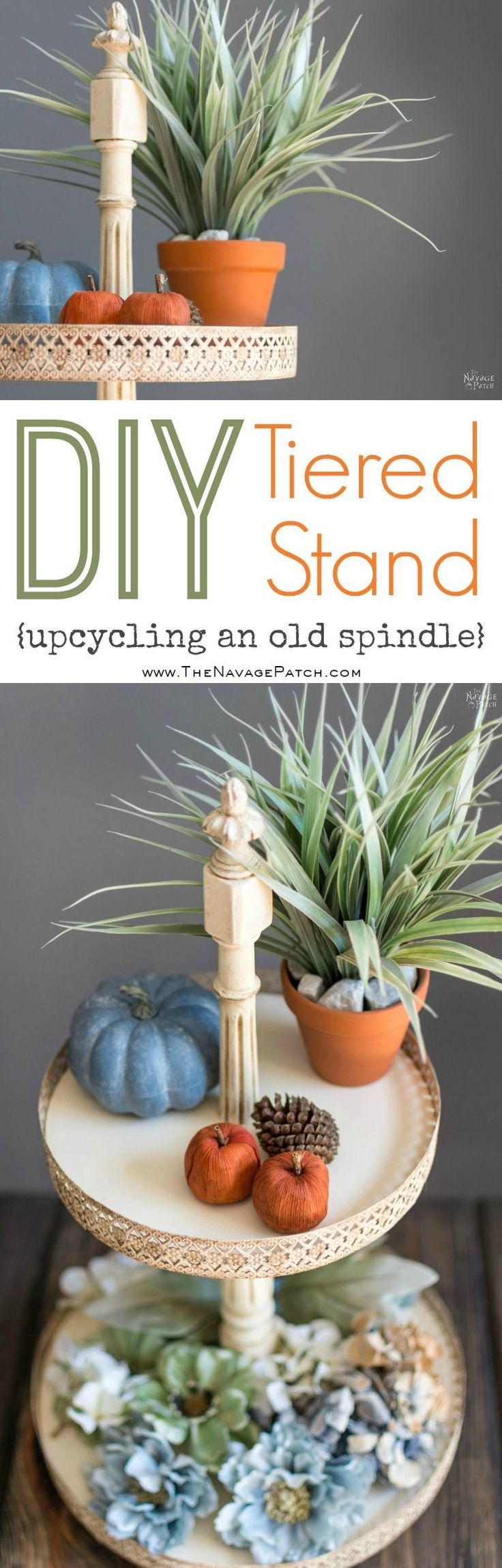 DIY Tiered Stand | How to make Victorian style tiered stand | How to use decorat...
