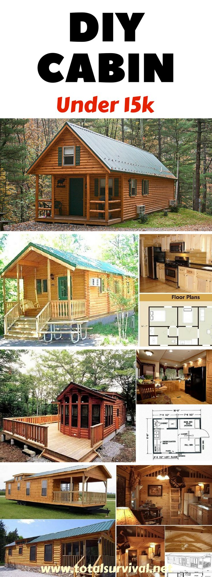 DIY Tips, Homesteading Tips, Preparedness Tips: DIY How to Build a Cabin in 7day...