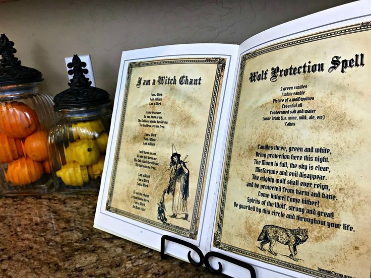 Make this Bewitching Spell Book + 3 other Bewitching Kitchen Projects!