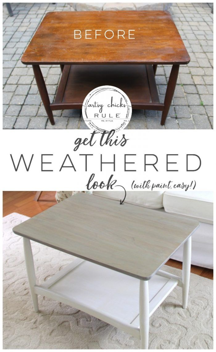Modernize and Update OLD Furniture (the easy way!) AND budget friendly too! #fur...