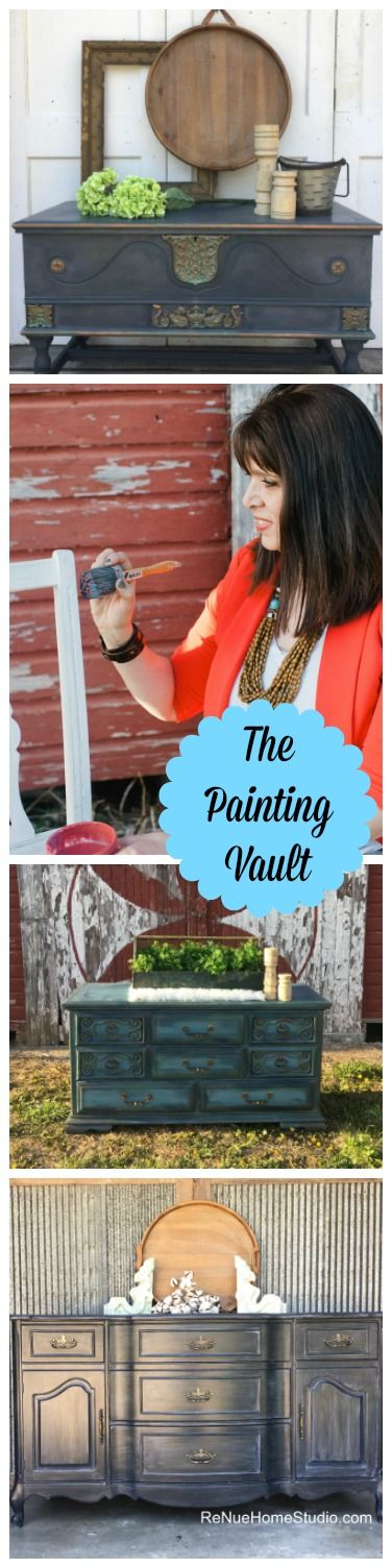 The Paint Vault is a private monthly group where you'll learn step-by-step h...