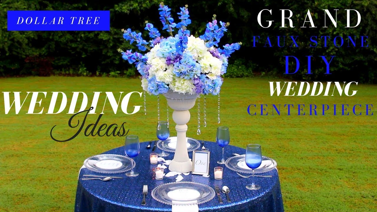 Diy projects video grand faux stone diy wedding centerpiece diy projects video grand faux stone diy wedding centerpiece dollar tree diy wedding ideas diyall home of diy craft ideas inspiration junglespirit Image collections
