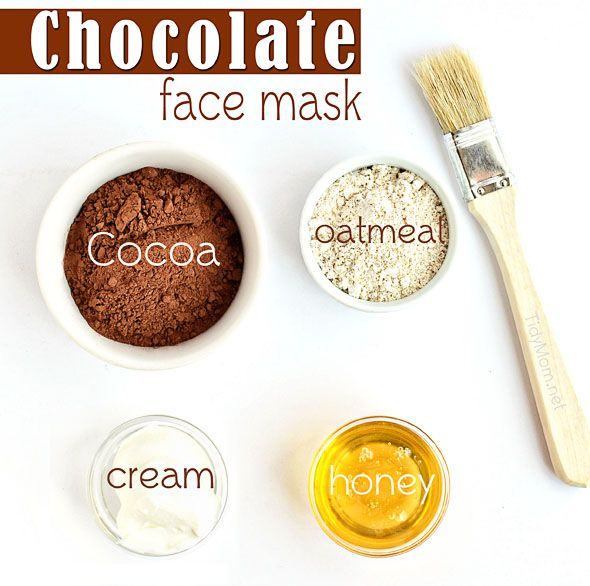 Chocolate Face Mask Ingredients Chocolate Oatmeal Face Mask   Healthy Homemade S...
