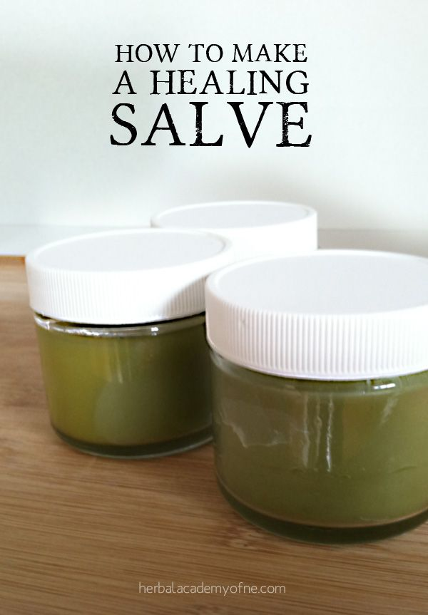 Salve making tutorial -- One of the best ways to receive the benefits of herbs a...