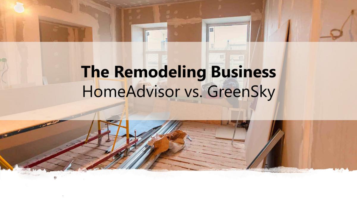 Home improvement homeadvisor vs greensky strategy dynamics diy solutioingenieria Gallery