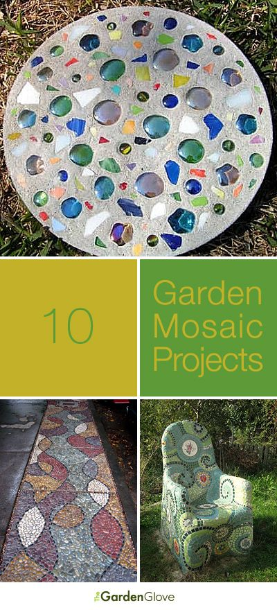 Diy Crafts 10 Garden Mosaic Projects Lots Of Ideas Tutorials