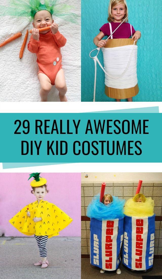 29 DIY Kid Halloween Costume Ideas #halloweencostumes
