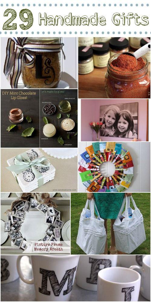 29 cute diy gift ideas. Love these!