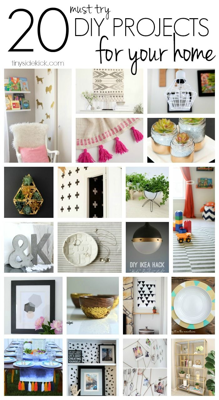 A great collection of some really fun and easy ways to DIY your way to an amazin...