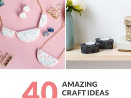 Diy Crafts A Round Up Of 40 Diy Craft Ideas To Sell On Etsy Or At