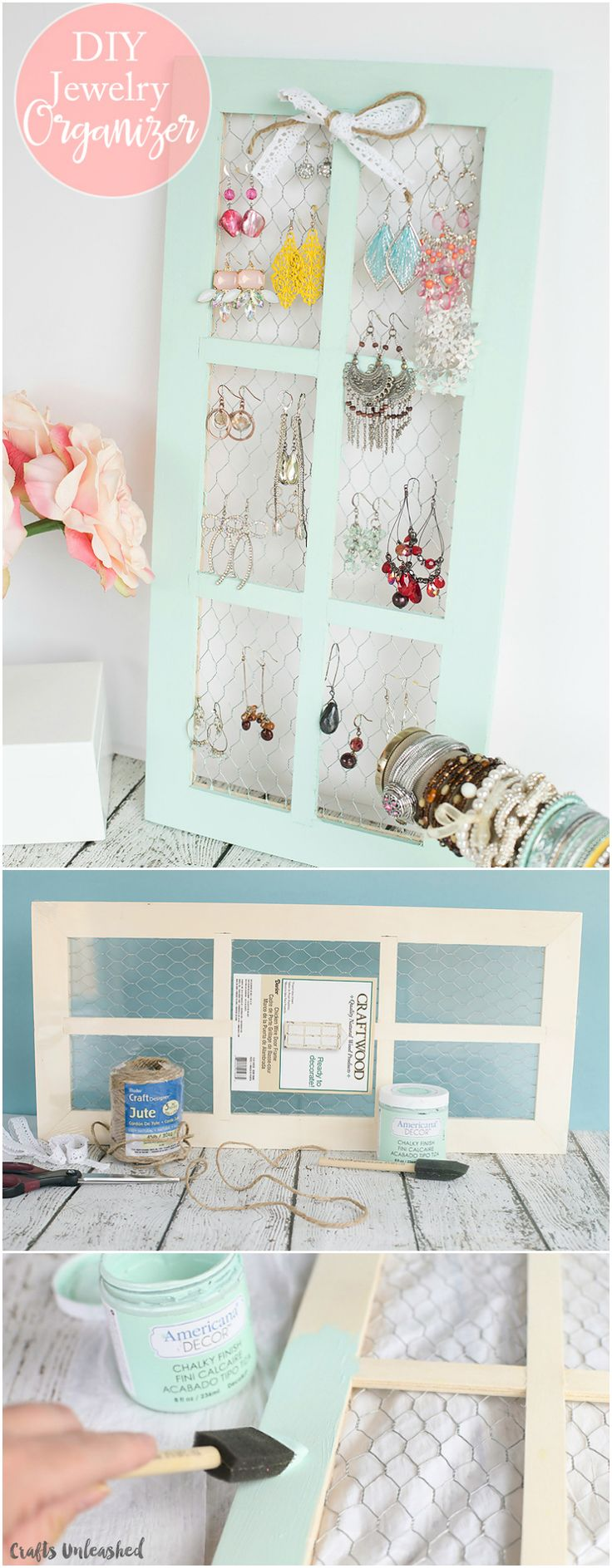 Are you looking for a stylish way to display and organize your jewelry? This chi...