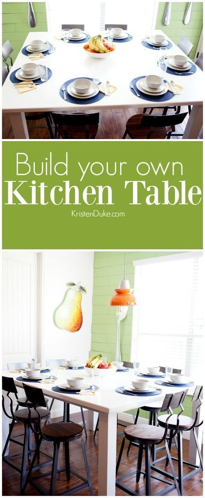 Build your own kitchen table. Looking for a custom design? How about build your ...