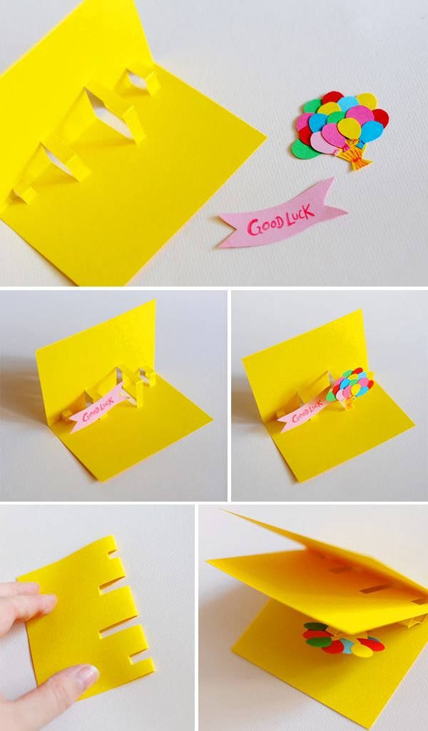 Diy Crafts Diy Pop Up Cards Always Wanted To Know How To Do