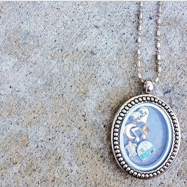 Fill a gLocket with all of your favorite things and wear them proudly.