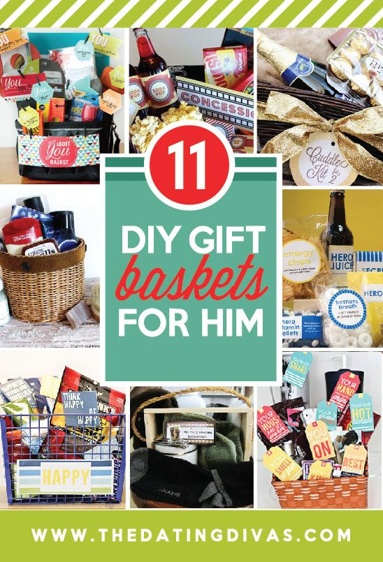 Diy Crafts Gift Basket Ideas For The Hubby Or Boyfriend These Are