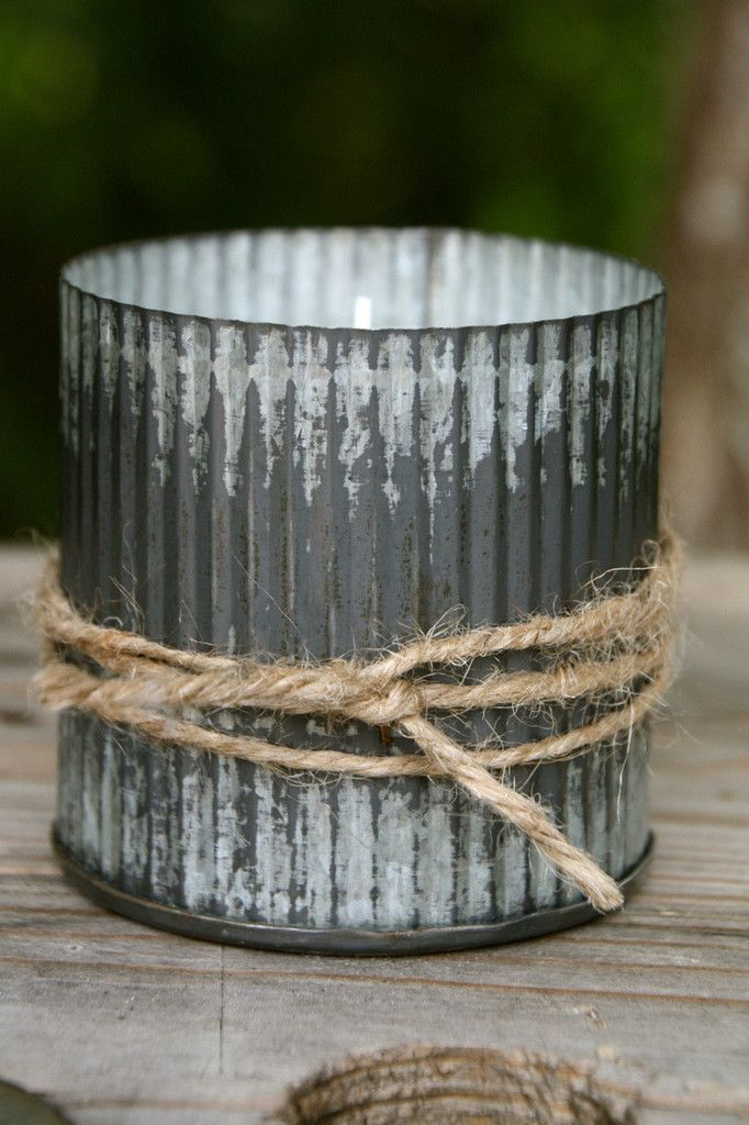 Goodness & Grace Galvanized Candle ~ The perfect combination of citrus and sweet...