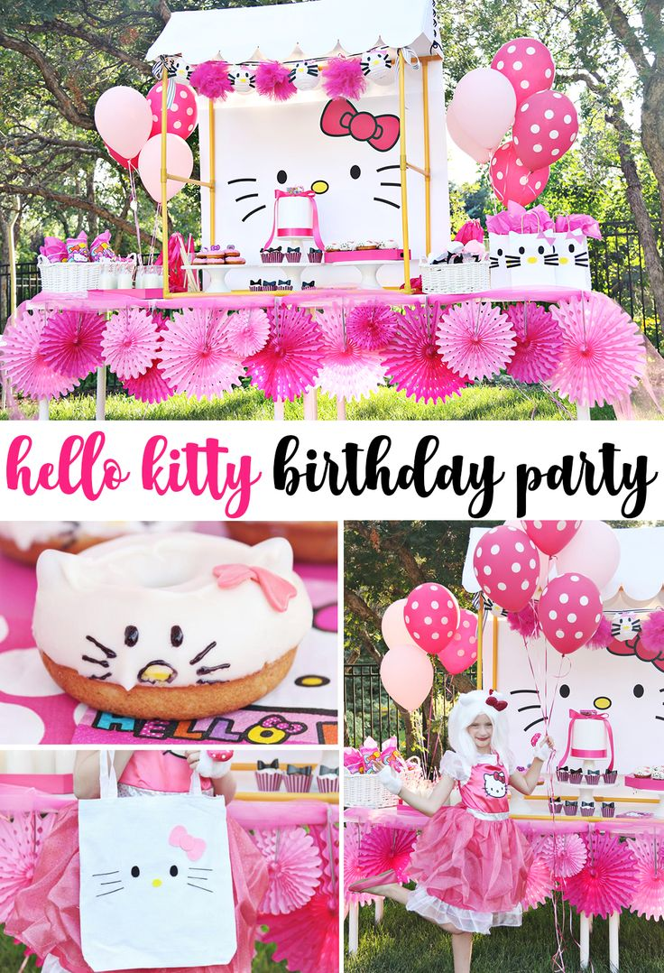 Diy Crafts Hello Kitty Party Backdrop Free Download Print As A
