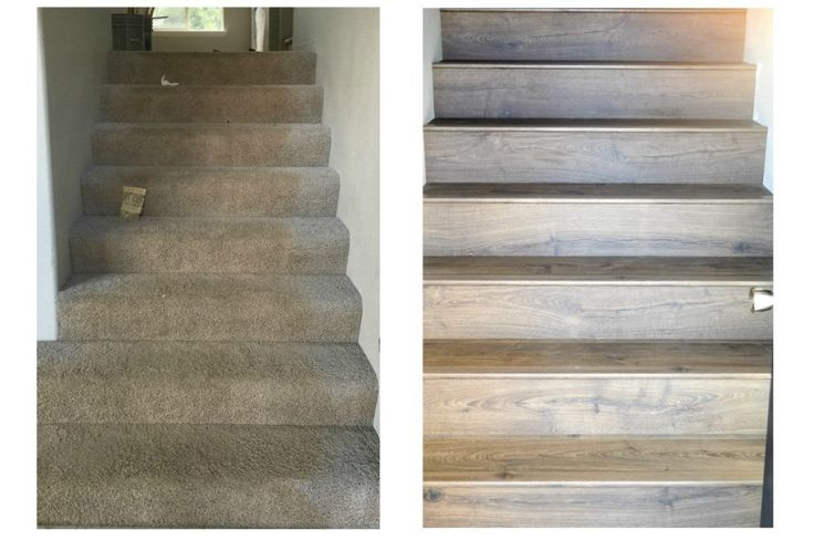 Jo's House: Quick-Step Stair Installation Process with Stairnose