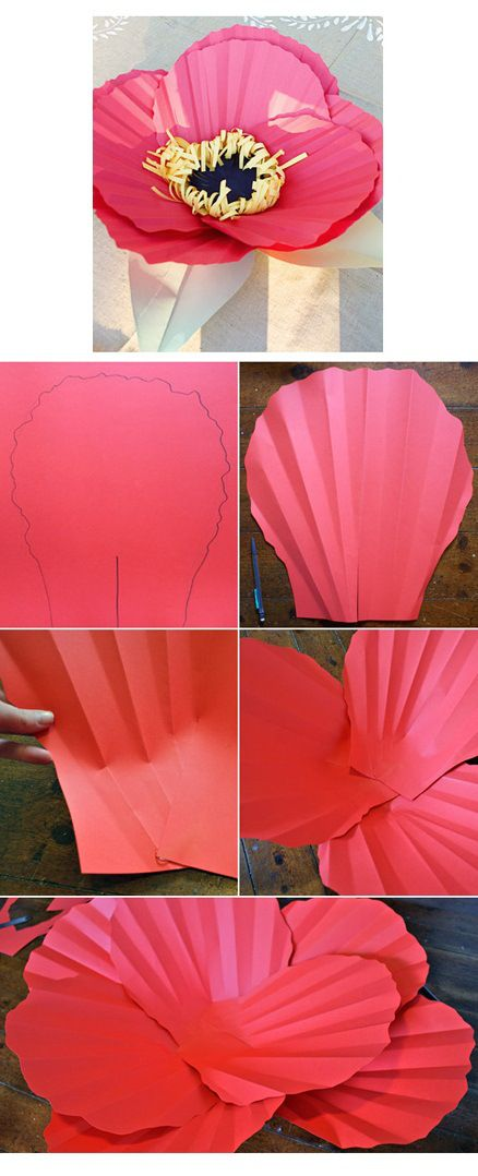 Diy Crafts Large Paper Flowers Diyall Net Home Of Diy Craft